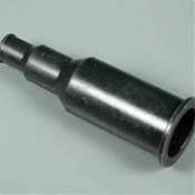 Silikoniniai antgaliai (izoliatoriai) elektrodams 12 mm tiesūs juodi