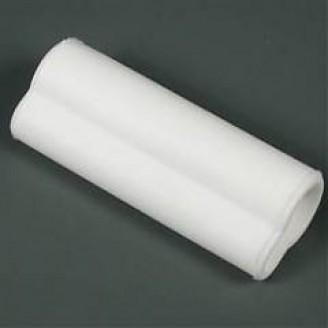 Silikoniniai antgaliai (izoliatoriai) elektrodams 12 mm atbuliniai balti