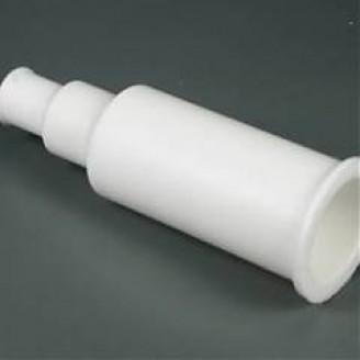 Silikoniniai antgaliai (izoliatoriai) elektrodams 15 mm tiesūs balti