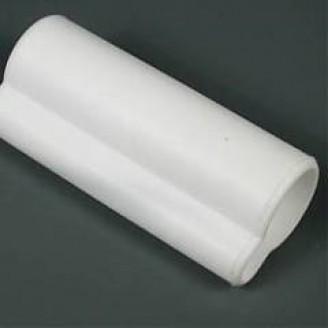 Silikoniniai antgaliai (izoliatoriai) elektrodams 15 mm atbuliniai balti