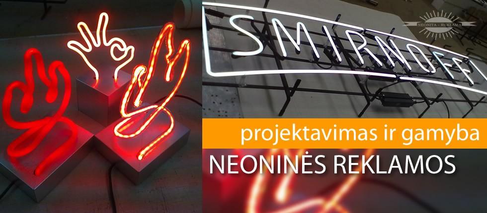 Neoninės reklamos projektavimas ir gamyba